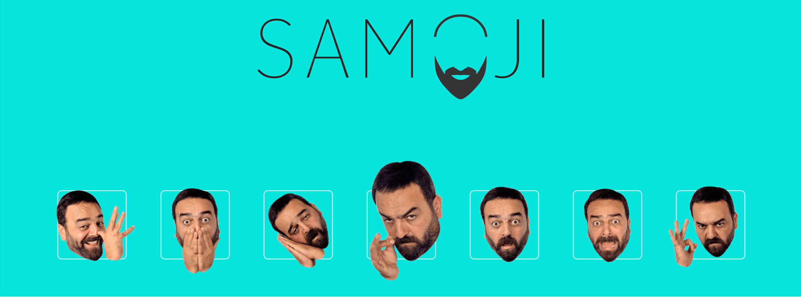 Application with emoji of Samer Al Masri