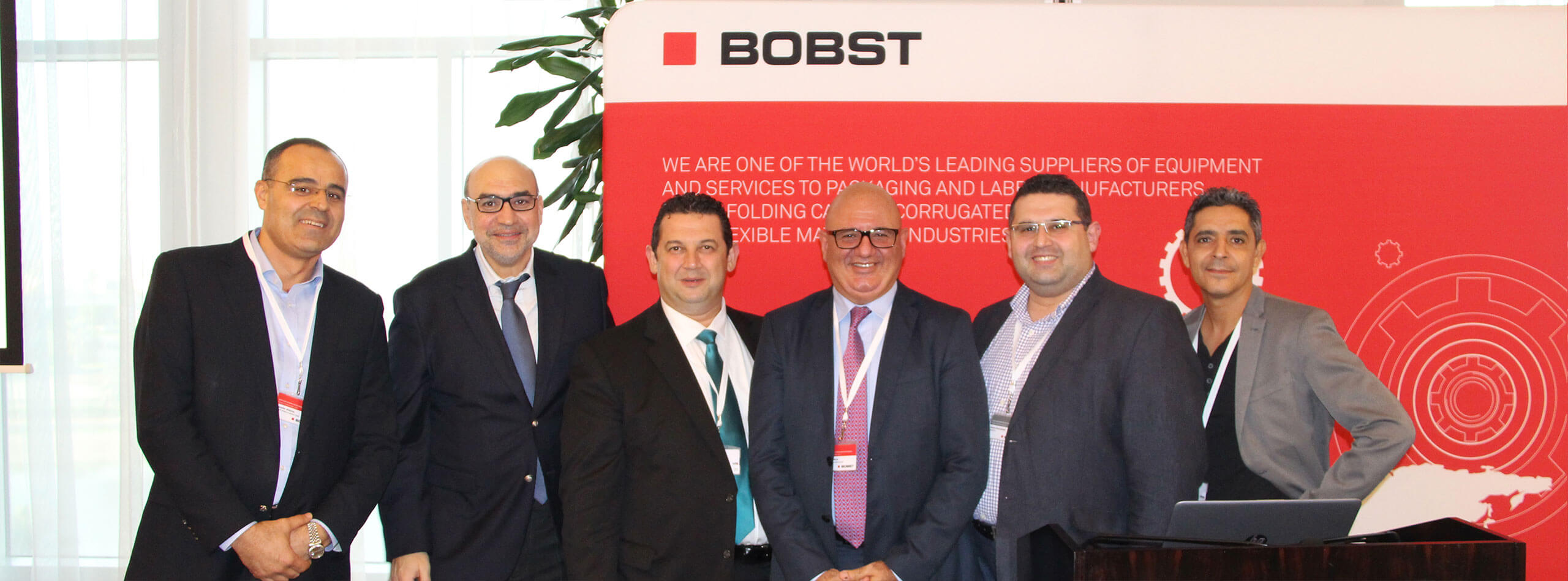 NDigitec and Bobst top management.
