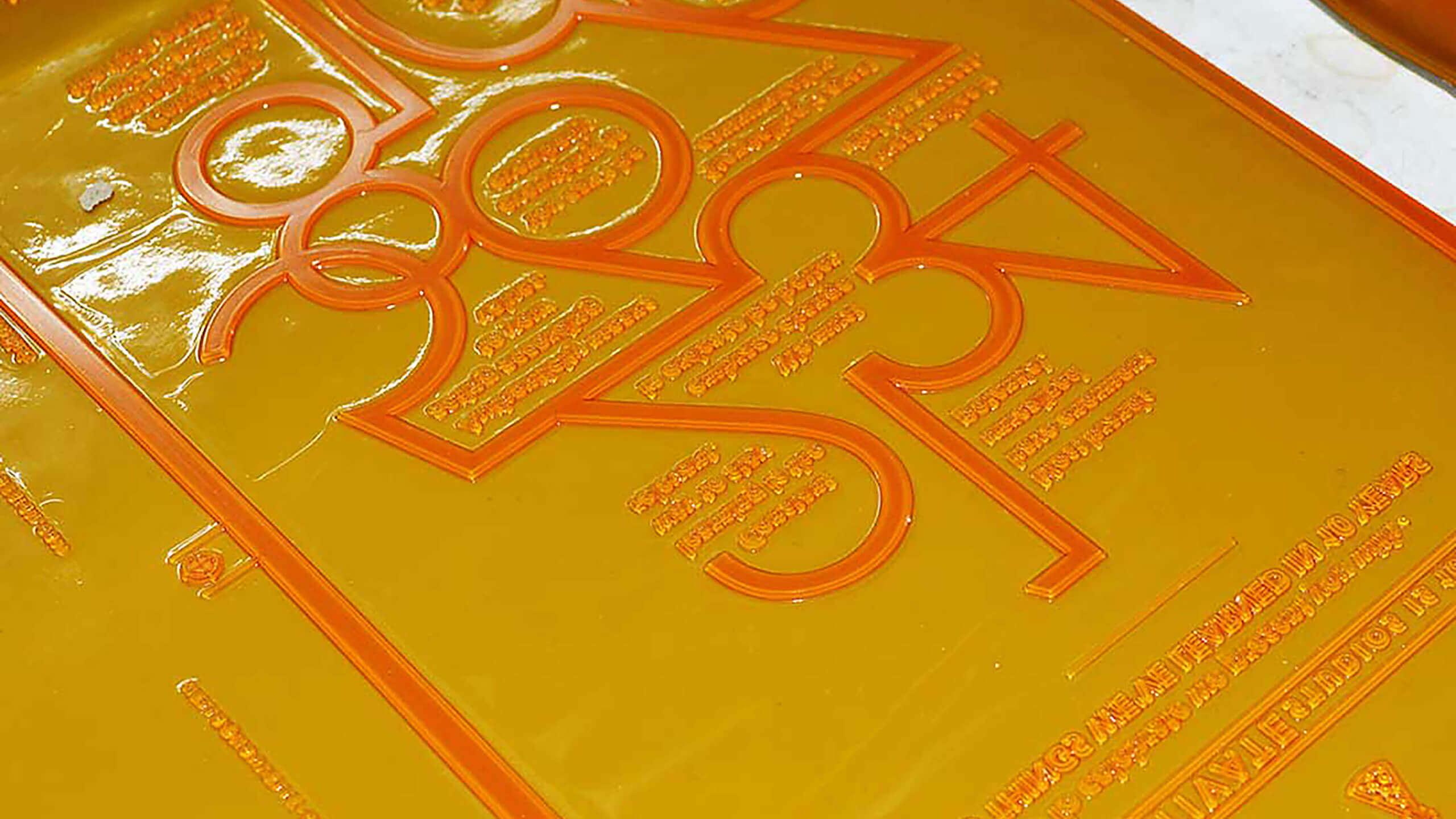 Water-Washable, Varnish & Metal-Based Plates
