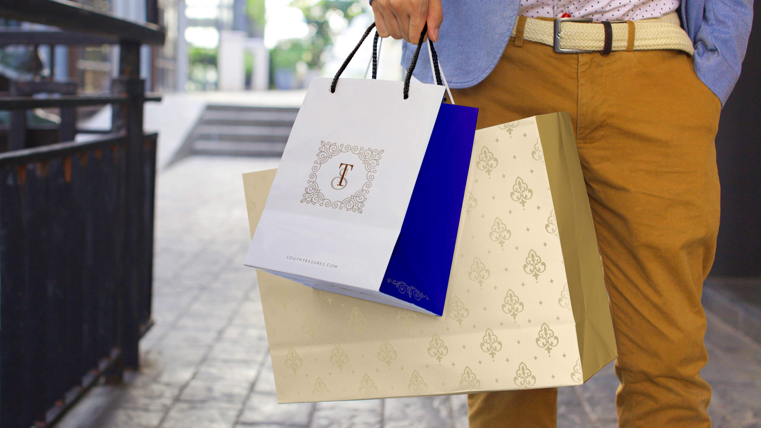 Packaging paperbag
