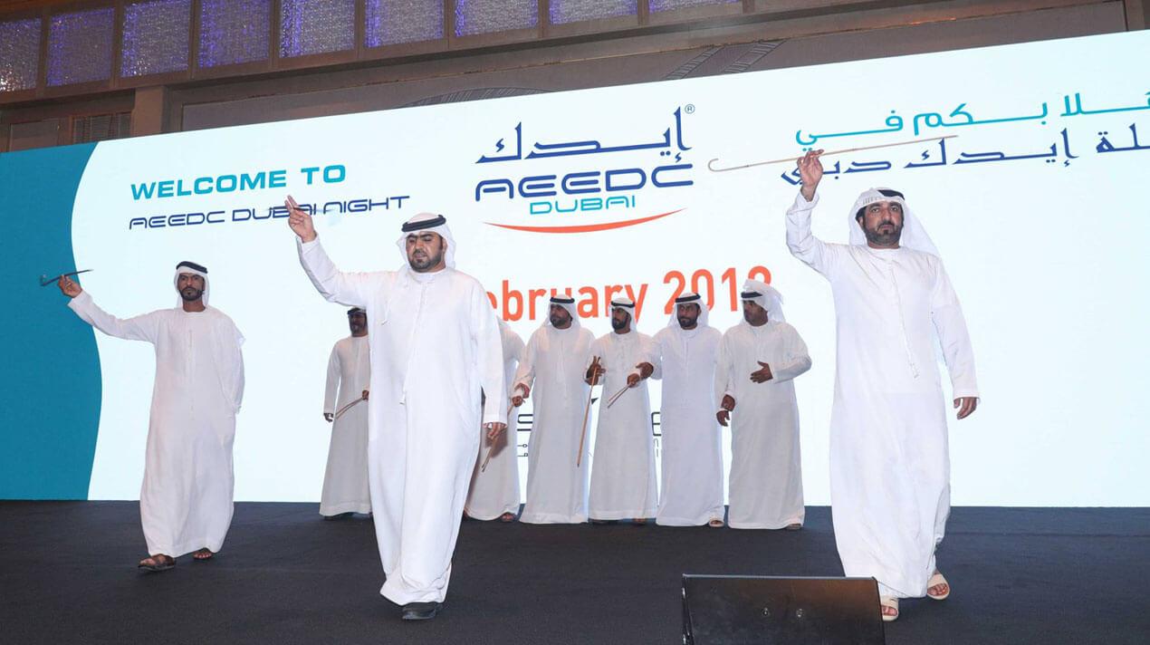 NDigitec fabricates stand for AEEDC 2018