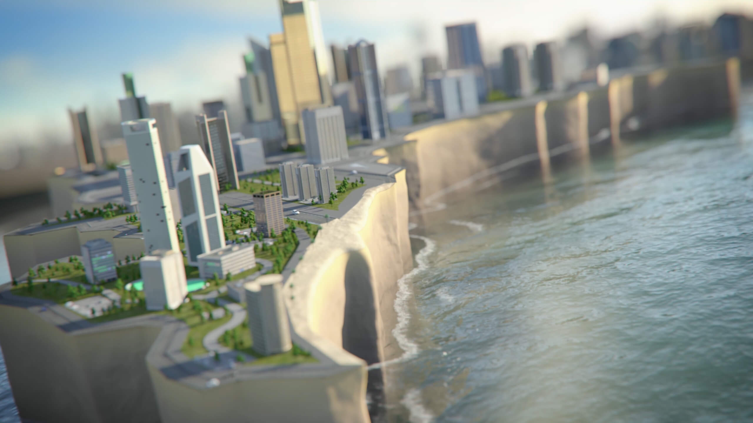 A CGI Film for GULF Capital by NDIGITEC