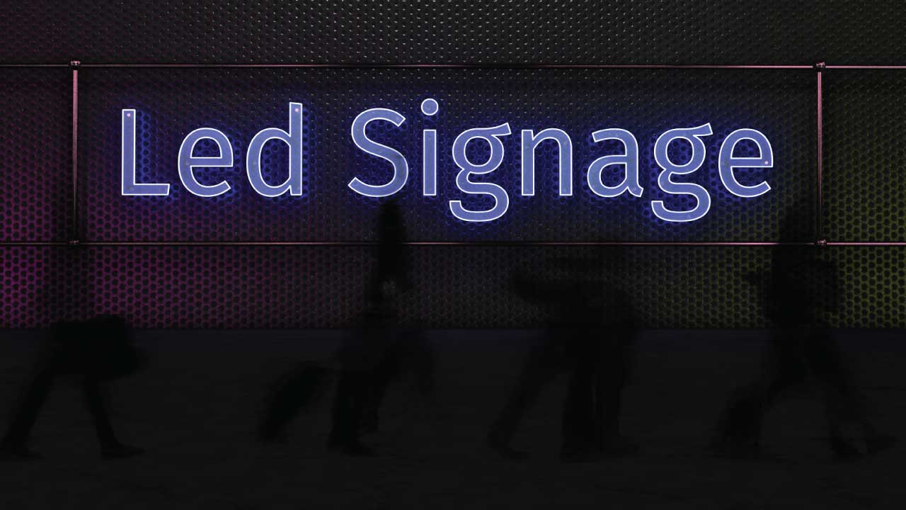 Led Signage | NDigitec | The History of Electric Signs