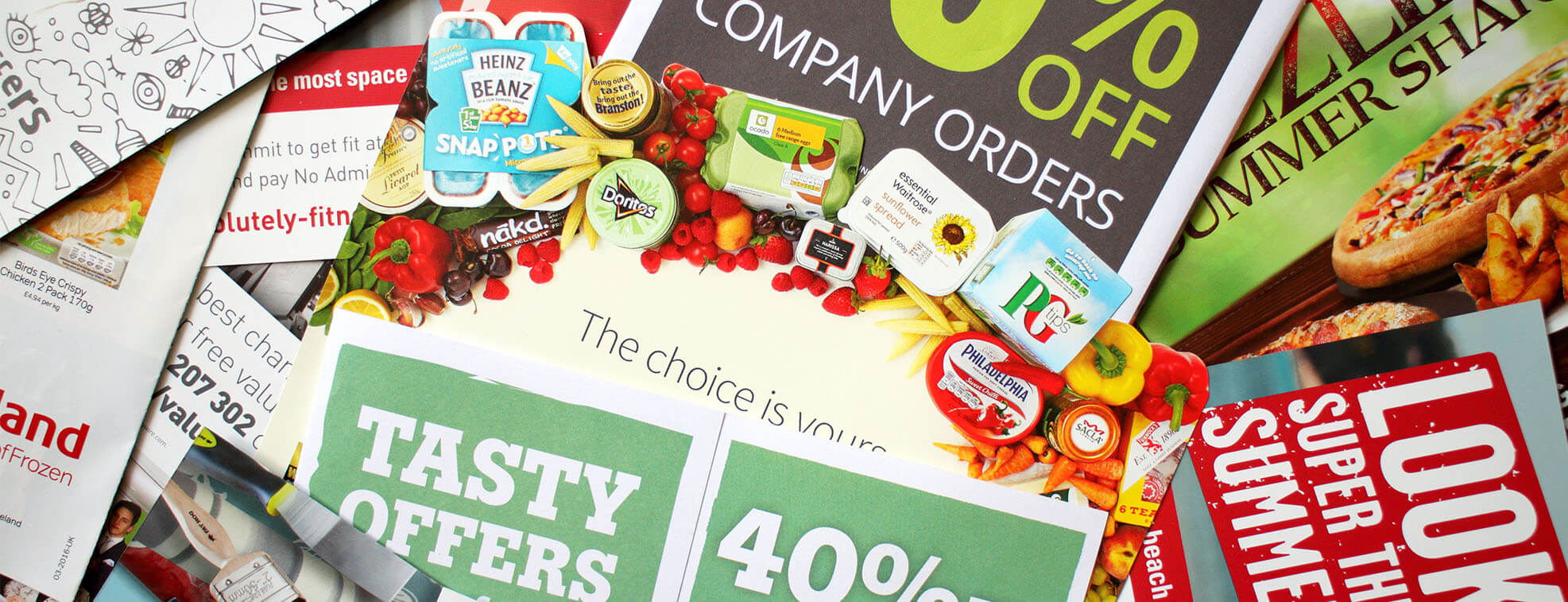 commercial printing used in promotional marketing
