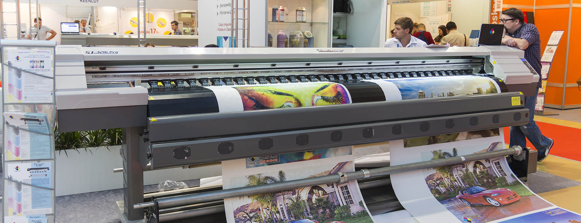 commercial printing process