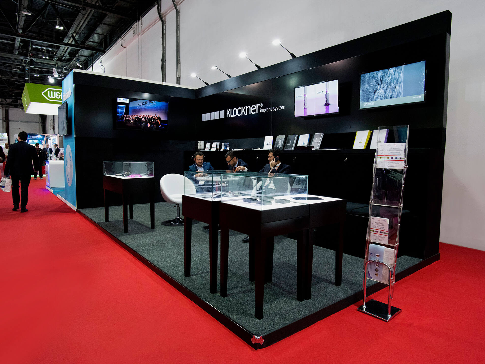 Kclockner trade show booth design