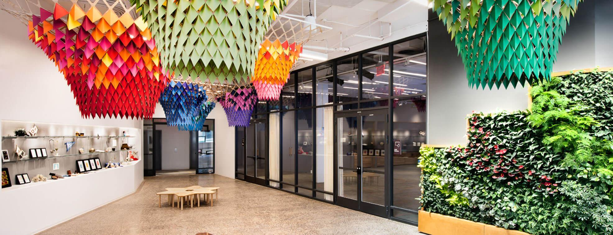 Etsy's Office Design